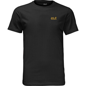 Jack Wolfskin Essential T-Shirt Heren, black